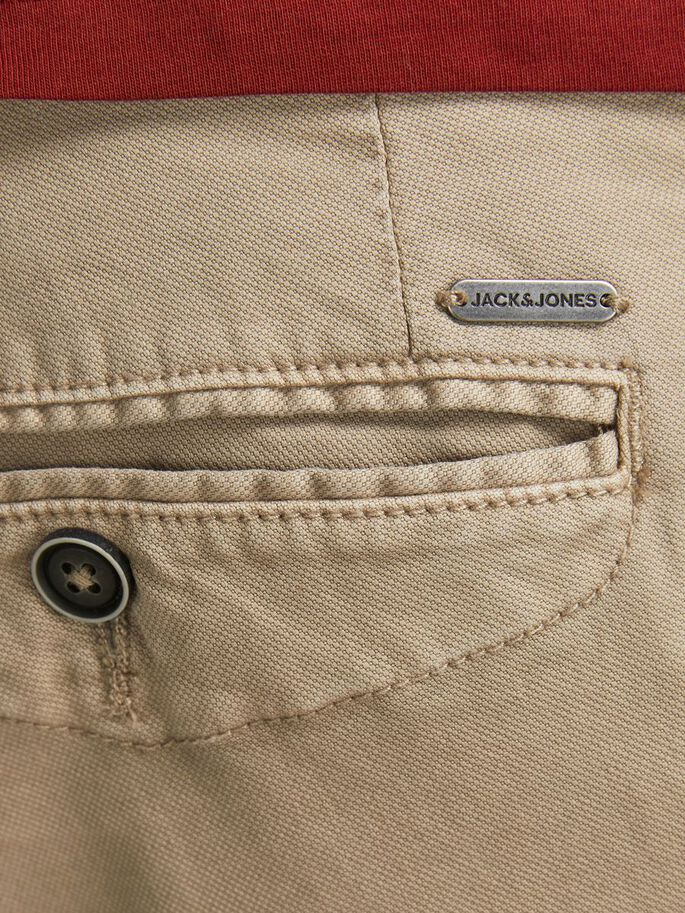 MARCO FRED AMA PLUS SIZE CHINOS, White Pepper, large
