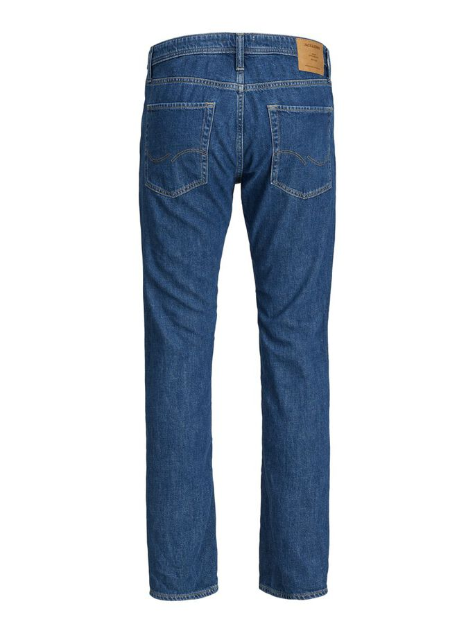 FRANK LEEN AM 236 TAPERED FIT JEANS, Blue Denim, large