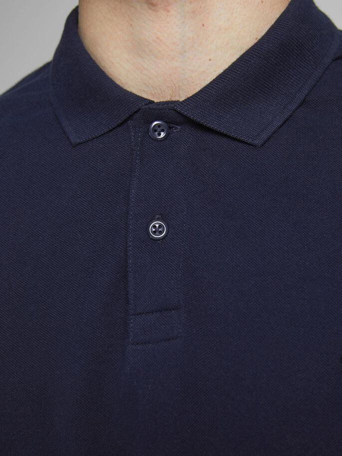 2-PACK PIQUE POLO SHIRT, Navy Blazer, large