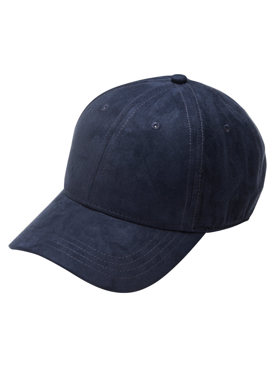 Navy Faux Suede Baseball Cap - Total eclipse Jack & Jones 4WNpk4575