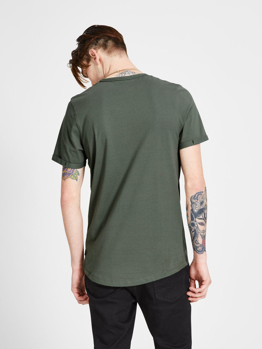 Jack & Jones GRAFIK - T-shirt imprimé - thyme