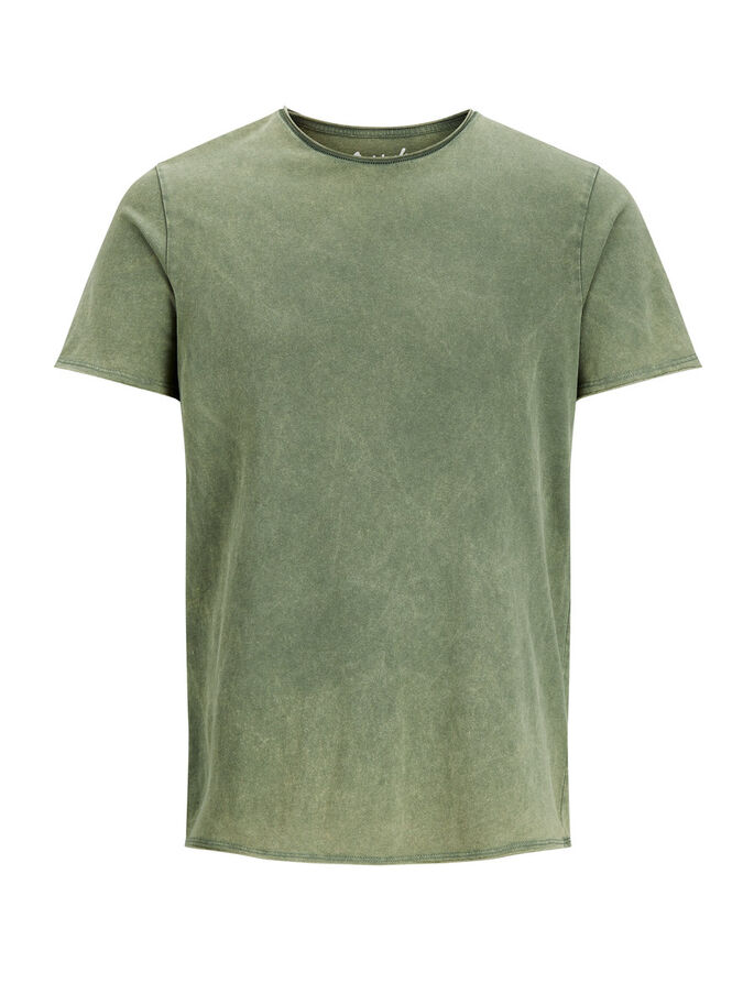 LÄSSIGES T-SHIRT, Thyme, large