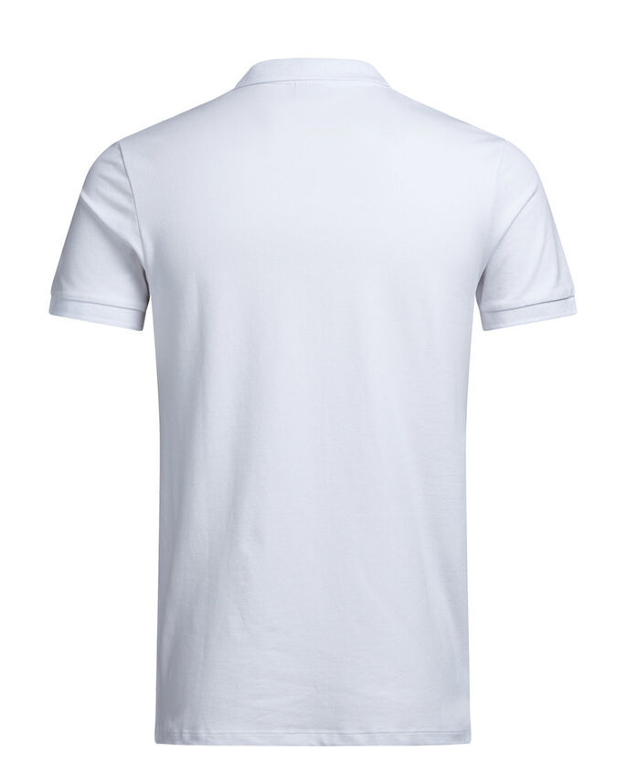 FERMETURE ÉCLAIR POLO, White, large
