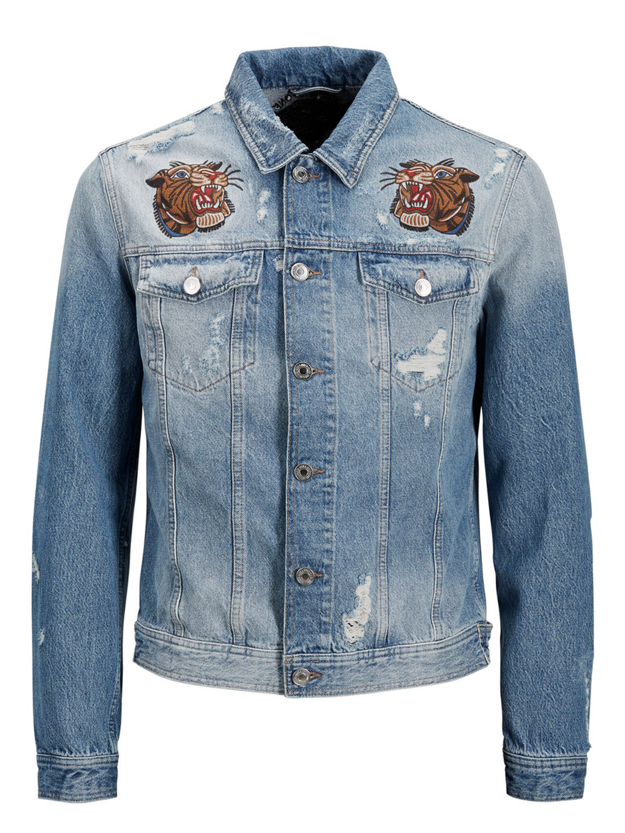Alvin Jacket Jj 091 Denim Jacket