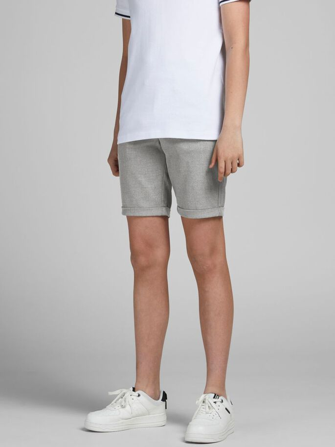 JUNGEN CONNOR AKM CHINOSHORTS, Grey Melange, large