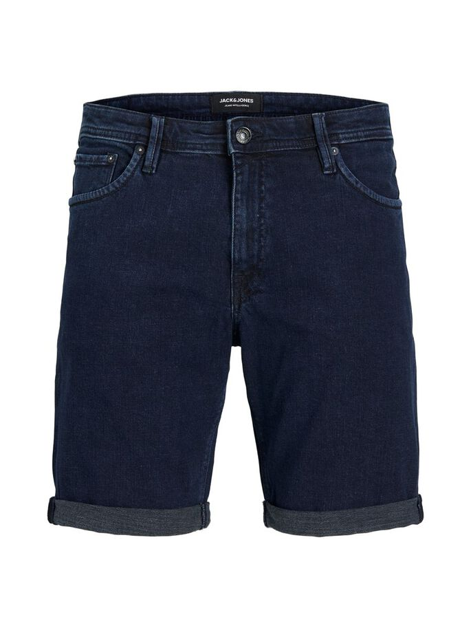 RICK FELIX AM 166 COUVERCLE SHORTS EN JEAN, Blue Denim, large