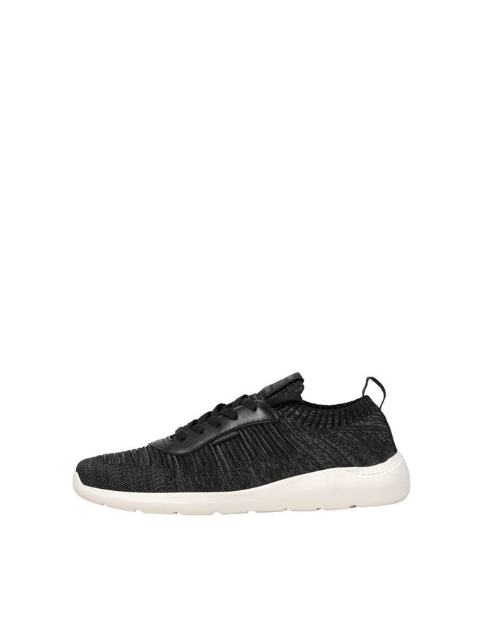 KNITTED MESH SOCK SNEAKERS, Anthracite, large
