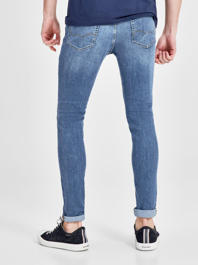 LIAM ORIGINAL AM 115 SKINNY FIT-JEANS, Blue Denim, large