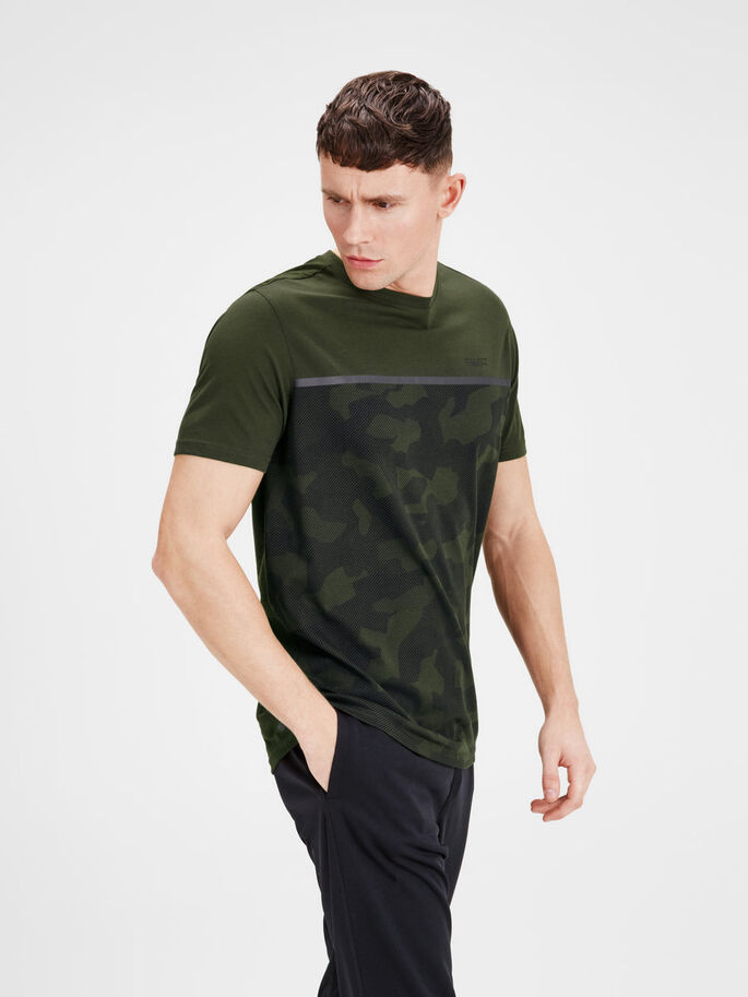 TEKNISK T-SHIRT, Forest Night, large