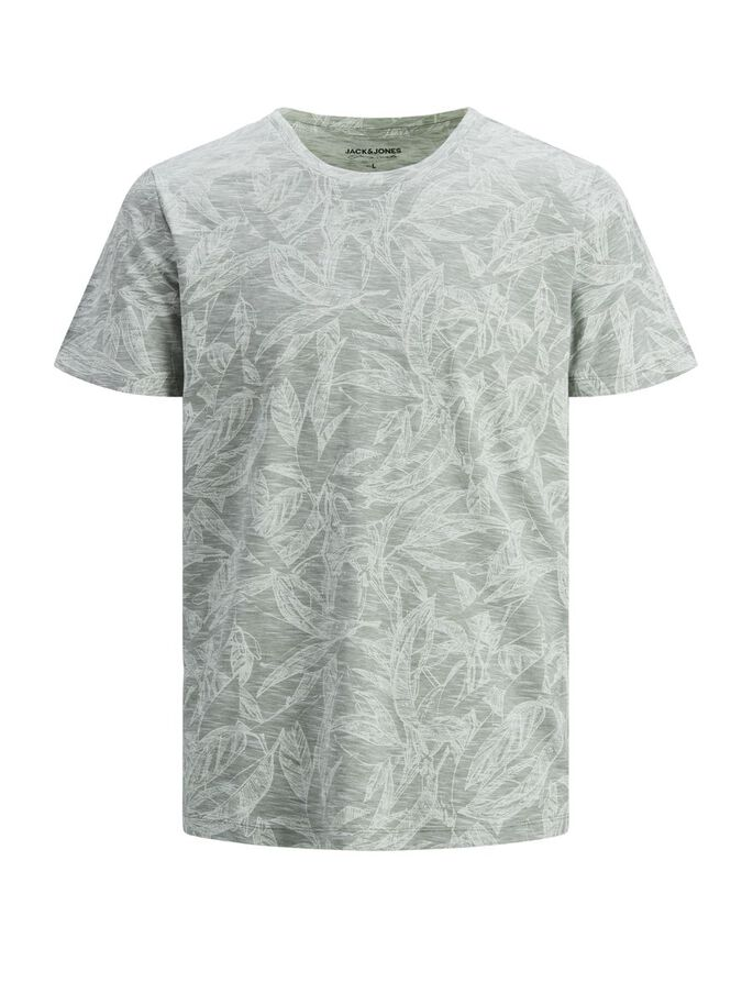 REGULAR FIT BOTANIKPRINT T-SHIRT, Sea Spray, large