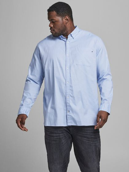 OXFORD PLUS SIZE OVERHEMD