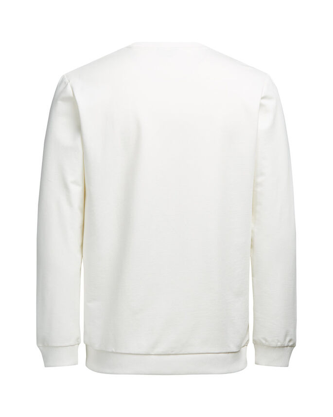 GRAPHIQUE SWEAT-SHIRT, Blanc de Blanc, large