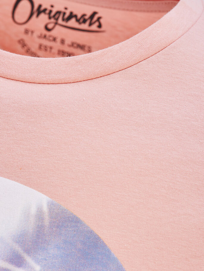 GRAPHIC T-SHIRT, Peach Beige, large