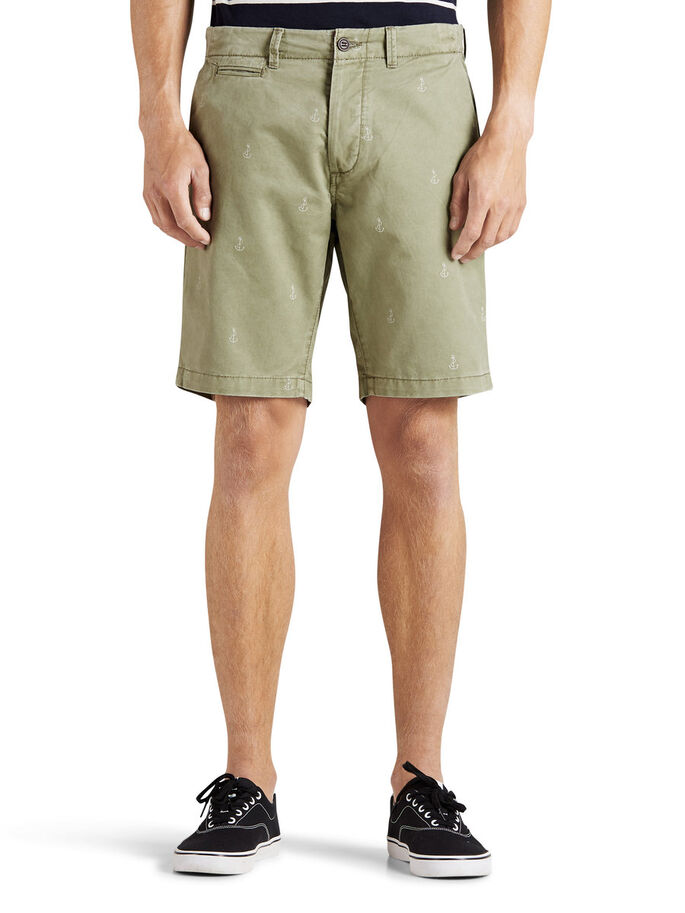 GRAHAM CHINO SHORTS, Deep Lichen Green, large