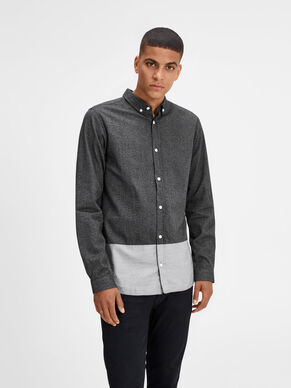 STRUCTURED LONG SLEEVED SHIRT