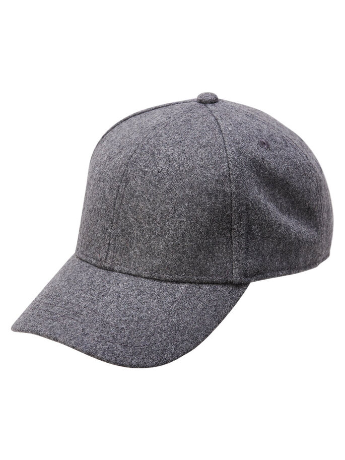 BASEBALL CAP, Light Grey Melange, large
