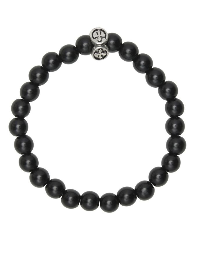 3-PACK BEADS BRACELET, Black, large