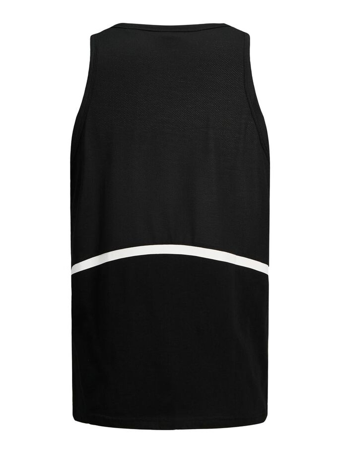 REGULAR FIT TANKTOP, Black, large