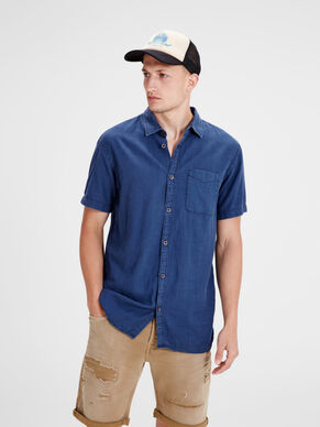 RELAXED SHORT SLEEVED SHIRT