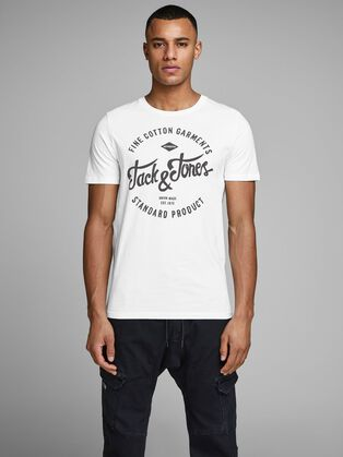 5b8a023b6 T-shirts for Men | Cool, Retro & More | JACK & JONES