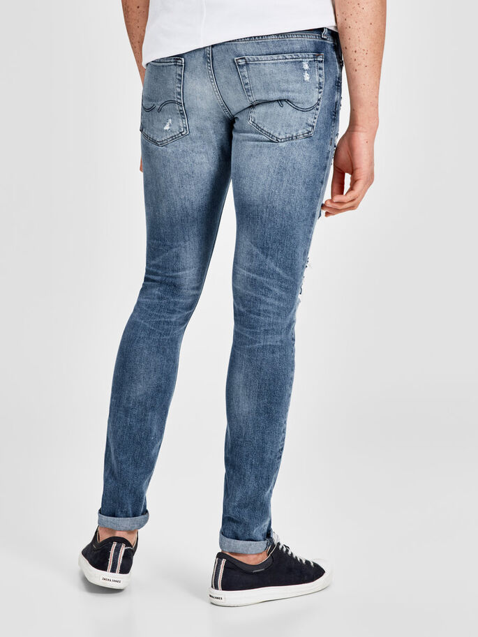 GLENN ORIGINAL 031 SLIM FIT JEANS, Blue Denim, large