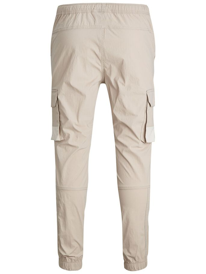 GORDON ROSS CARGO TROUSERS, Pure Cashmere, large