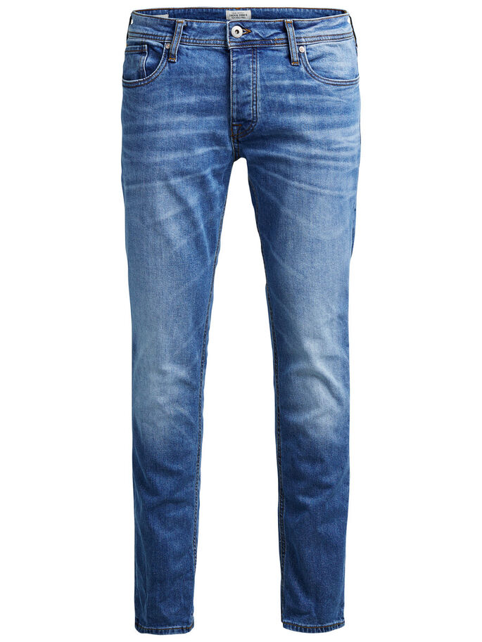 TIM ORIGINAL AM 078 JEANS SLIM FIT, Blue Denim, large
