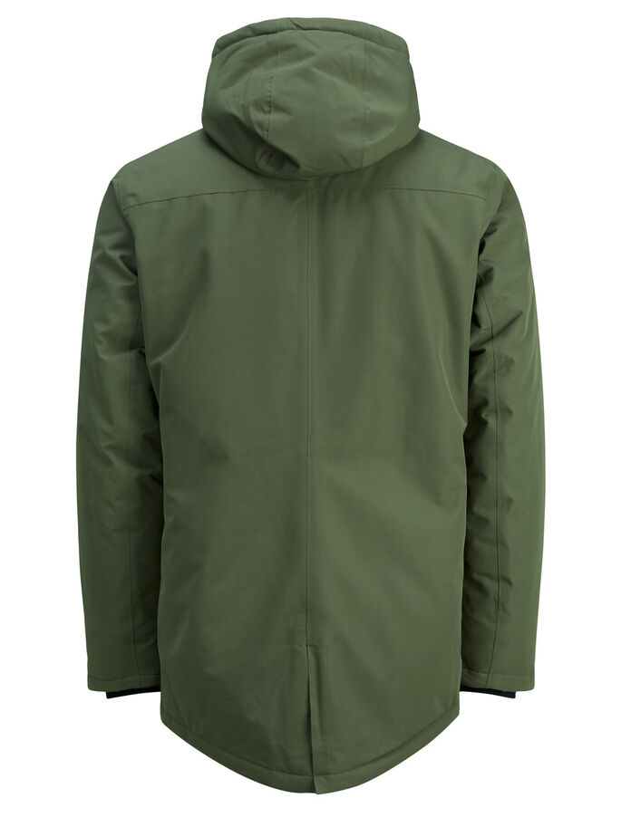 IMPERMÉABLE PARKA, Olive Night, large