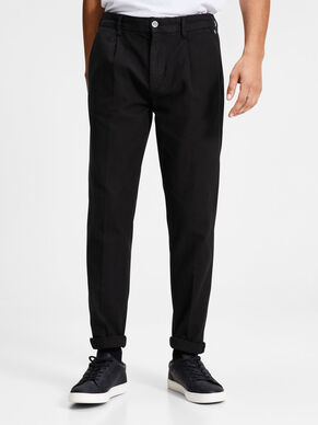 ACE MILTON AKM 399 BLACK CHINOS