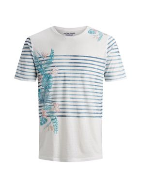 db563a9c Floral striped t-shirt | JACK & JONES