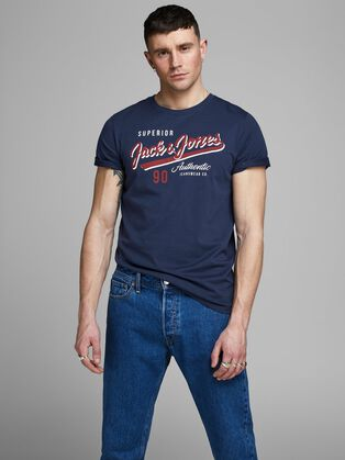 697c568e50 T-shirts for Men | Cool, Retro & More | JACK & JONES