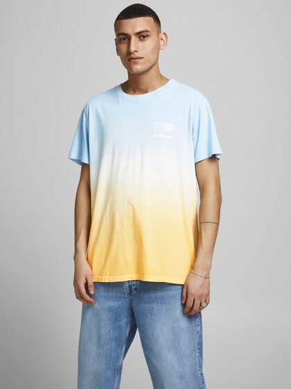 OVERSIZED FIT DIP DYE T-SHIRT