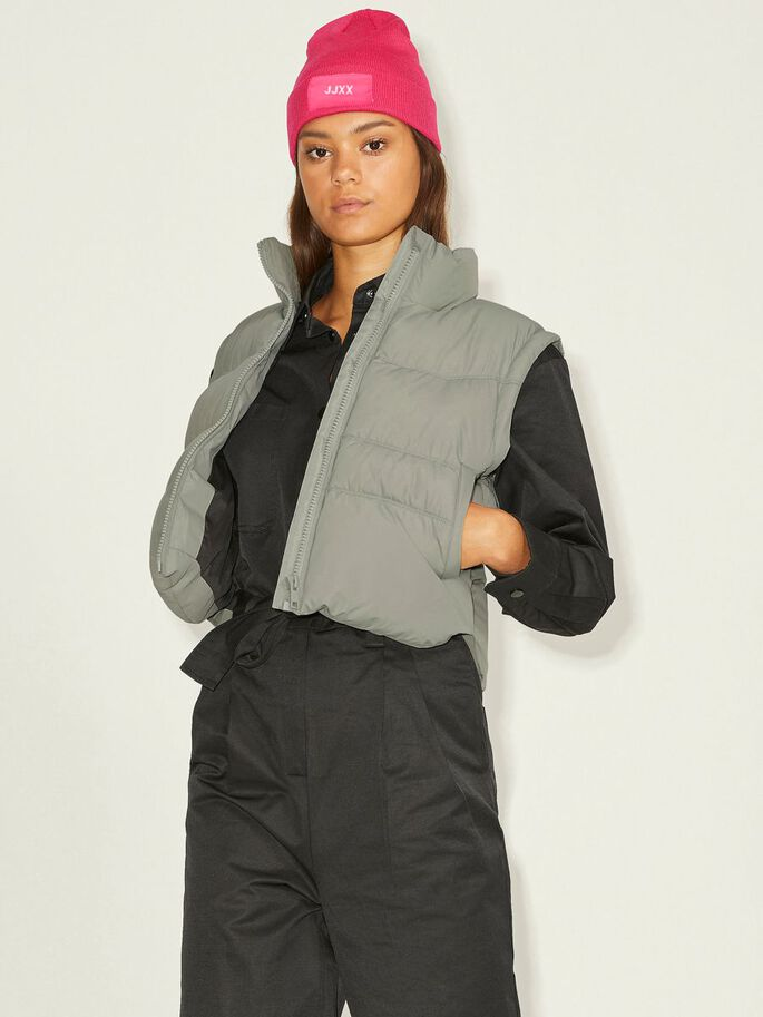 JXRUBY DOWN PUFFER GILET, Shadow, large