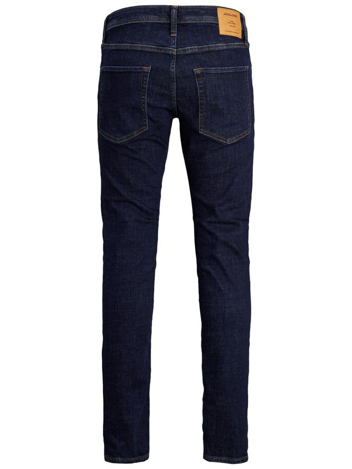 CLARK ORIGINAL AM 366 LID REGULAR FIT JEANS, Blue Denim, large