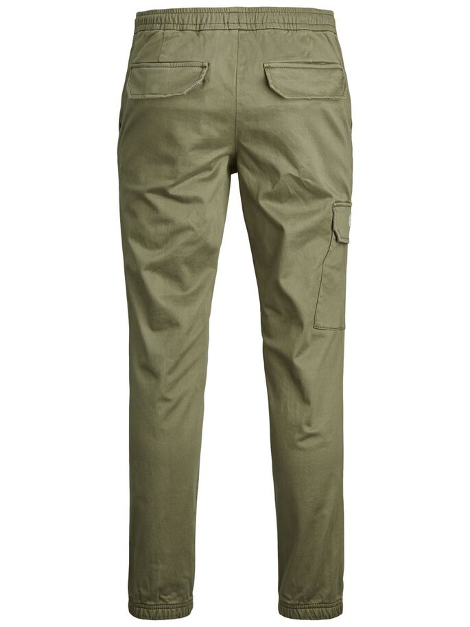 ACE HILL AKM CARGO TROUSERS, Dusty Olive, large