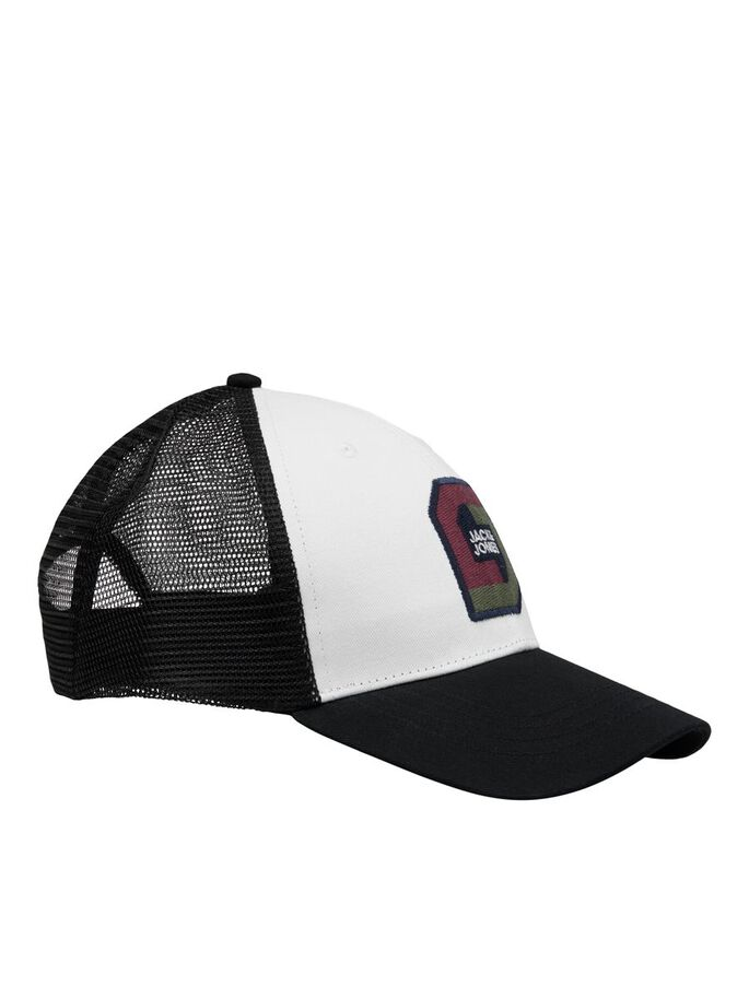 MESH TRUCKER CAP, Black, large