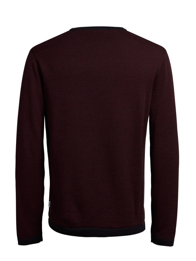 STRUKTURERET PULLOVER, Port Royale, large