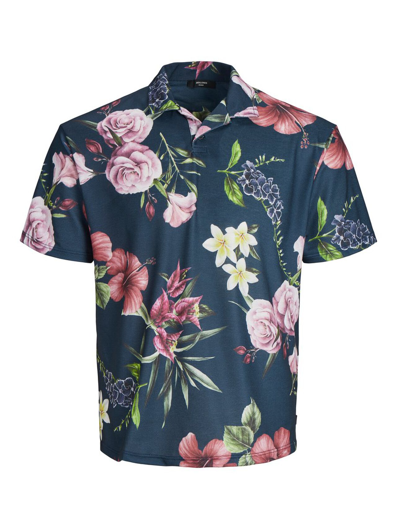 5b4e1049 Floral print polo shirt | JACK & JONES