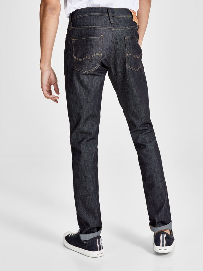 GLENN ORIGINAL JOS 130 JEANS, Blue Denim, large