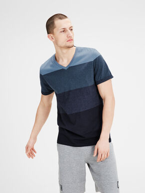 COLOUR-BLOCKING T-SHIRT