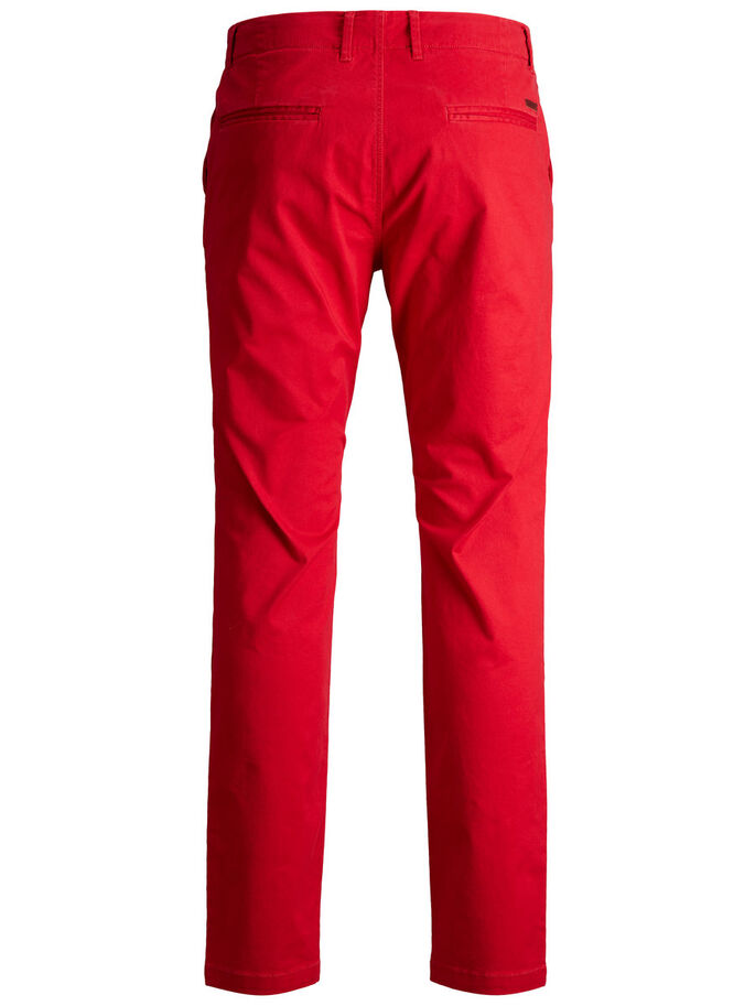MARCO ENZO WW 420 CHINOS, Racing Red, large