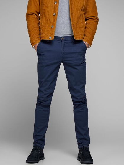 MARCO BOWIE SA NAVY BLAZER SLIM FIT CHINO