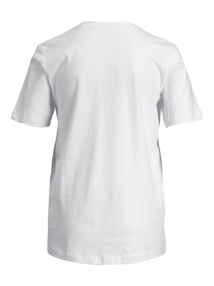 JUNGS T-SHIRT, White, large