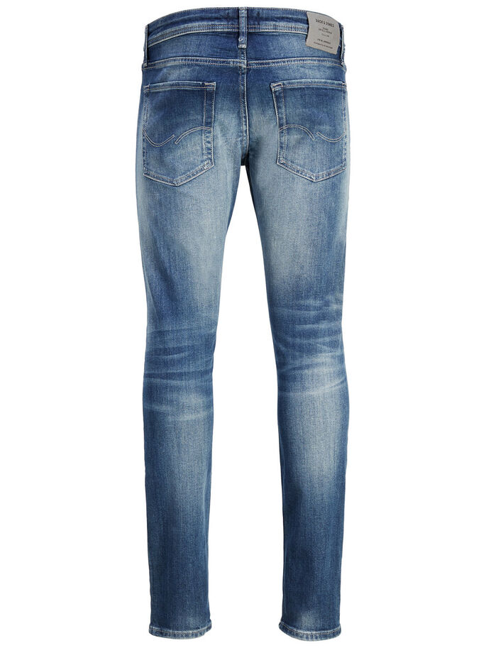 GLENN ORIGINAL JJ 033 SLIM FIT JEANS, Blue Denim, large