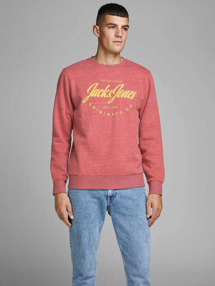 Jack and Jones sudadera cuello redondo