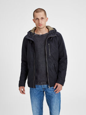 WAXED PARKA COAT