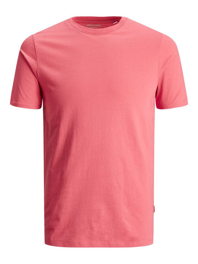 ORGANIC COTTON T-SHIRT, Slate Rose, large
