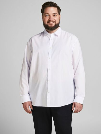 2-PACK SOLID PLUS SIZE SHIRT