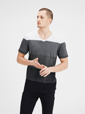 COLOUR-BLOCK T-SHIRT